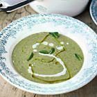 Jamie Oliver: courgettesoep met munt - recept - okoko recepten