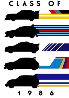 Featuring the headline cars, Audi Quattro Lancia Delta Ford Peugeot 205 and the MG Metro Lancia Delta, Audi Quattro, Ford Rs, Car Vector, Car Posters, Car Drawings, Bike Art, Automotive Art, Rally Car
