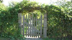 Garden gate in Germany