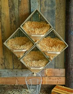 Milk crate nest boxes for the ladies - Are these actually big enough for a standard sized lady?