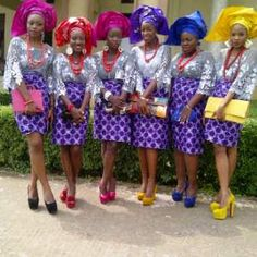 This is really colourful and very nice using the reigning Oleku Style mixing up ankara with a less colourful Top(buba) and then using c. African Dresses For Women, African Print Dresses, African Print Fashion, African Attire, African Wear, African Women, African Prints, African Outfits, African Lace