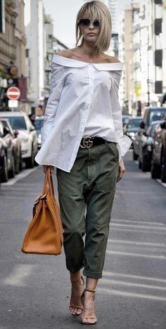 Bukser og jeans til store kvinder Køb online her Bukser og jeans til store kvinder Køb online herPalazzo Femme Shirt in Gelb – Mode Outfits, Chic Outfits, Fall Outfits, Fashion Outfits, Womens Fashion, Fashion Trends, Fashion Ideas, Summer Outfits, Heels Outfits