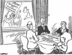 """10. März 1952 - Stalin Noten  Stalin bietet die Wiedervereinigung Deutschlands unter der Prämisse der Neutralisierung Deutschlands an, die Westmächte und Adenauer sehen dies als """"Störmanöver"""""""