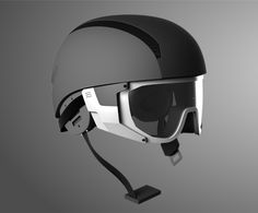 Ski Helmet + Goggle on CCS Portfolios – Electronic is Charge