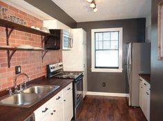 The completely renovated kitchen boasts stainless steel appliances and everything a cook would need to make a great meal. Check out this awesome listing on Airbnb: Great Apt. 1 Mile to Downtown & UGA - Apartments for Rent in Athens