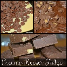 Reese's Slow Cooker Fudge from Hugs and Cookies XOXO