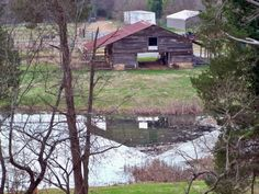 Barnsely Gardens, Adairsville, Ga pond