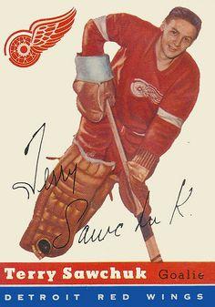 Hockey Goalie, Hockey Games, Ice Hockey, Hockey Players, Montreal Canadiens, Wings Card, Hockey Boards, Hockey Pictures, Red Wings Hockey