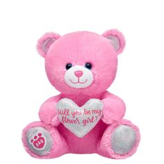 Make your own custom teddy bear online by customizing with everything your teddy bear needs: clothes, shoes, recordable voice message, accessories and a whole lot more. Shop teddy bears online now at Build-A-Bear! Teddy Bear Online, Our Wedding, Dream Wedding, Wedding Ideas, My Flower, Flowers, Flower Girls, Teddy Bear Gifts, Foto Baby