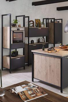 Küchen im Industrial Style sind perfekt für den Look der Foodtruck Küche