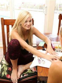 Kristin feet Sexy holt