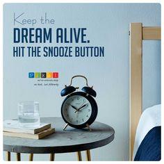 #quoteoftheday #creativewriting #dream #aim #alarm #mondayblues #snoozeit #keepdreaming #pixel