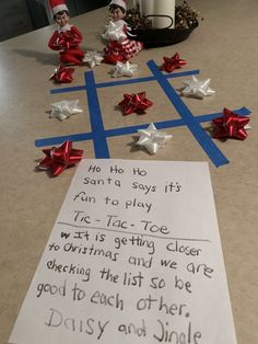 Elf on the Shelf Ideas for Kids With Messages Which Kids Are Gonna Love - Hike n Dip Here are over 70 Elf on the Shelf Ideas for Kids. These funny Elf on the Shelf ideas with notes will surely be a fun thing to do with kids for Christmas. Noel Christmas, Christmas Games, Christmas Activities, Christmas Elf, Christmas Traditions, All Things Christmas, Christmas Crafts, Christmas Messages, Christmas Ideas