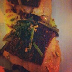 Truffle butter fish