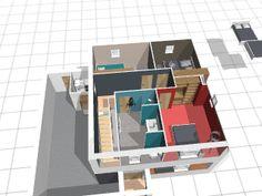 plan 3D en ligne | Maison écolo / ecoHouse | Pinterest | 3d