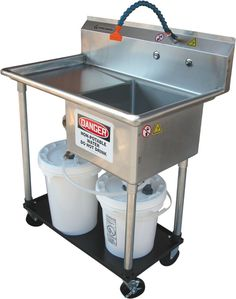 The Cink is a portable rinse and cleaning area for your studio. It captures all clay for reuse or disposal. The Cink keeps your drain clean and clear of clay. Ceramic Supplies, Pottery Supplies, Ceramic Tools, Pottery Tools, Clay Tools, Pottery Ideas, Pottery Workshop, Pottery Studio, Ceramic Workshop