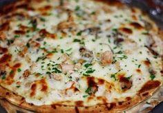 Chicken Alfredo Pizza  Tomorrow supper