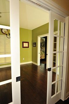 pocket doors to  study