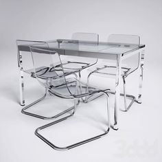 Ikea Glivarp Table and Tobias chairs