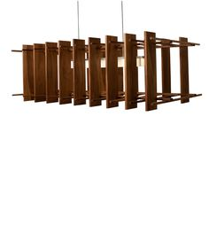 Arca LED Linear Pendant Light by Cerno - Color: Brown - Finish: Oiled Walnut and Brushed Aluminum - Linear Pendant Lighting, Wood Pendant Light, Contemporary Pendant Lights, Bar Lighting, Pendant Lamp, Lighting Ideas, Lighting Design, Dimmable Led Lights, Kitchen Island Lighting