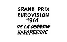 Eurovision Song Contest 1961 – Wikipedia