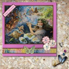Josephine Wall 'Happy Retirement' Card, made by Melissa Lawrence for World Cardmaking Day October Calligraphy Doodles, Calligraphy Alphabet, Islamic Art Calligraphy, Celtic Dragon, Celtic Art, Happy Retirement Cards, Josephine Wall, Graffiti Alphabet, Zentangle Patterns