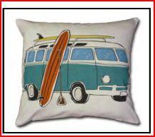 DECOR - combie van Retro Art, Soft Furnishings, Dream Cars, Diaper Bag, Crafts For Kids, New Homes, Cushions, Throw Pillows, Cartoon
