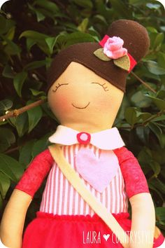 Country style: Hand made kids: Irene sweet doll