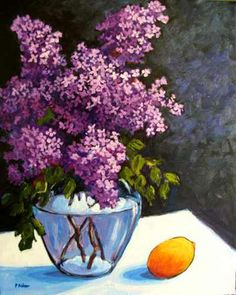Still Life with Lilacs, Patty Baker