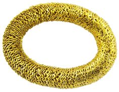 LINA: 399 SEK gold-tone slip on bracelet. Available in silver-tone on our website until stocks last.