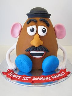Love Mr Potato Head - For all your cake decorating supplies, please visit craftcompany.co.uk