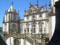 Palacio do Freixo, Porto. Built in 18th century, is a very romantic hotel today