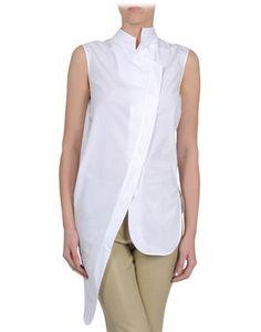 Mugler sleeveless shirt on thecorner.com