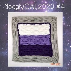 Block 4 is fascinating to crochet, and courtesy of A Crocheted Simplicity! Get all the details here for the free crochet along! Moogly Crochet, Free Crochet, Crochet Squares Afghan, Granny Squares, Crochet Afghans, Crochet Granny, Crochet Stitches, Crochet Abbreviations, Crochet Patterns For Beginners