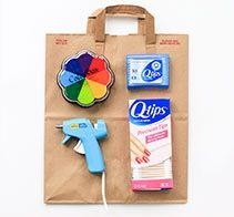 QTIPS craft ideas Ar