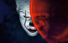 Télécharger fonds d'écran Pennywise, 4k, 2017 film, clown