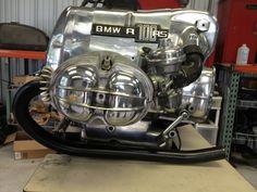 BMW polishing at Liberty Cafe Bike