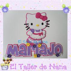 Nombre más aplique de Hello Kitty