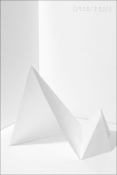 Projet blanc /// O comme Origami (07/26) by LEVARWEST, via Flickr