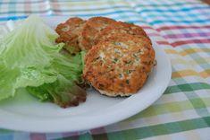 Zalm-selderijburgers