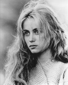 Emmanuelle Beart was so beautiful in Manon des Sources.
