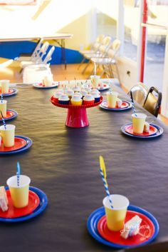 Archery Party table