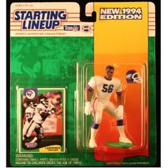 LAWRENCE TAYLOR / NEW YORK GIANTS 1994 NFL Starting Lineup Action Figure & Exclusive NFL Collector Trading Card (Toy)  http://budconvention.com/zone1.php?p=B000GK7JSU  #newyork