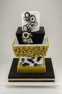 - This features over 200 vintage button designs that I recreated in sugar and hand painted gold.