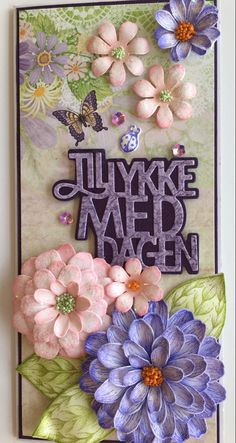 Heartfelt Garden Zinnia. Nydelig og enkel å lage. Zinnias, Summer Garden, Frame, Decor, Decoration, Decorating, Frames, A Frame, Dekoration