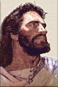 I love this picture of Jesus because he looks like a solid strong man. So many times we see him small  in our minds ...at least I have done this..anyways love the pic.
