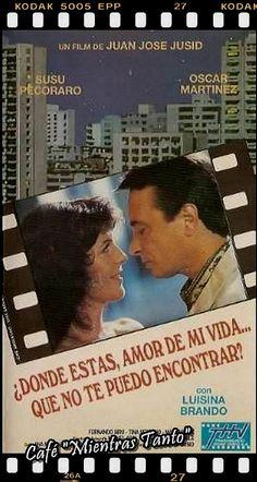 """Cine Sala """"Charles Chaplin"""" - Donde estas amor de mi vida, que no te puedo encontrar (1992) - Ingresa a la sala pulsando el Link: http://cine-sala-a01-jcp.blogspot.com/2013/11/donde-estas-amor-de-mi-vida-que-no-te.html"""