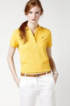 L.12.12 Original Fit Short Sleeve Non-stretch Pique Polo