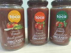 Produtos orgânicos – porque escolher. Entenda o porquê escolher produtos orgânicos e conheça os molhos de tomate orgânicos
