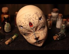 alderwiki:    Found this amazing gem of a mod in progress to a DZ Mo by Haskykiller at deviant art, and faceup by Pherentikus at Deviant art.      Things I've wanted to learn for a while now; HOW TO MOD BALLJOINT DOLLS. Because DAMN that's cool, but even getting just a face seems to be expensive as hell..